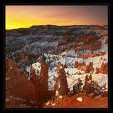 Bryce Canyon NP, Utah, USA, январь 2009
