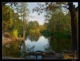 Река Усманка в 20 км от Воронежа. Октябрь.Nikon Coolpix E4200река, Усманка, осень