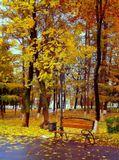 Городской пейзаж. Осень