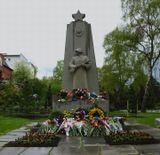 Памятник советским войнам павшим при освобождении Норвегии(347 человек). 9 мая, 2009, Осло