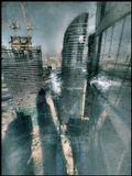 Москва Сити Тени без ФШ