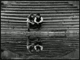 Двое, парочка, влюбленные, лестница, Екатерининский парк, Пушкин, китайская беседка
