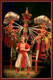 Демонстрация нескольких десятков разнообразных по форме и очень яркоцветных костюмов завершали цирковое представление. Неожиданно и ранее мной не видано.