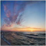 Балтийское море Зеленоградск Вечер