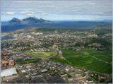 Одна из фотографий, сделанных на последок из окна самолёта.......Будо, НорвегияP.S. Перезагрузила, всвязи с внесенными корректировками...Спасибо за совет)