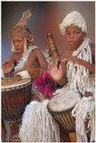 Южная Африка, поселение зулусов.