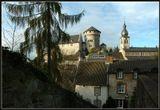Замок Штольберг в одноимённом городке, названного по имени основателя-графа Штольберг, Северная Вестфалия, Германия.