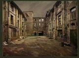 город, гранж, питер, прогулка, рядом, санкт-петербург, фактура, двор, дом, разруха, старый, сталкер
