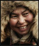 Зимний февральский день. -24 и сильнейший ветер. Так начиналась Сагаловка (месяц холодных ветров сразу за бурятским Новым годом (Сагаалган) ) 2009 года.----------------Снималось на максимальном оптическом зуме на празднике Сагаалган. Бурятия.
