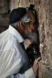 Иерусалим, стена Плача, молитва, 2009