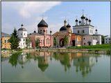 Из архивов, давнишнее место - Давидова Пустынь (г. Чехов) На тот момент на территории убили настоятеля монастыря..  :(