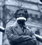 Питер, Пушкин, марш несогласных, март, снег