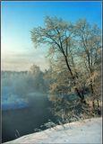 р. Истра, -37, холодно, снег по колено, заболела, лечилась, выздоровела. :)