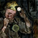 Снимок сделан на глубине 1000 метров под землей в угольной шахте в 2004 году