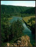 верховья реки Белой 198Х год. Уральские горы.Зенит ЕТ (скан слайда)