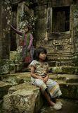 Камбоджия. Сием Риап. Ангкор-ват. 9.2009.