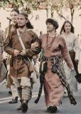 Брянск 17.09.09. Участники парада исторических реконструкций в день празднования дня города.