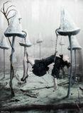 Фотошоп, коллаж, дорисовкаДевушка болто грибы забытая