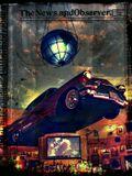 hard rock cafe, car, retro