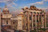 Это Рим. Вид на триумфальную арку. Одно из первых фото загруженых на ленсе.