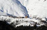 Австрия Хохзельден зима 2000 метров