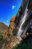 Водопад у хижины Рацека (Ала-Арча)