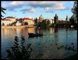 Mесто фотографирование, Malostranske набережная, Мала Страна -Прага 1