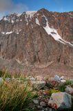 Один из склонов вершины Бокс, Ала-Арча, Киргизия.