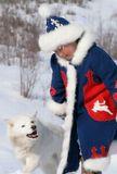 с.Намы, север Якутии. Девочка Апреля со своим верным другом. С ним не страшно и весело, всегда защитит и беседу поддержит...