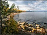 Конец сентября на восточном берегу Байкала.