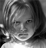 Шалафаев Илья, shalapai-ART, детский портрет, взгляд, губки прикусила