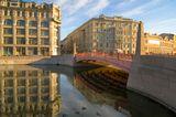 санкт-петербург река мойка красный мост