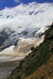 Кавказ. Над Безенгийским ледником