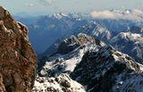 Альпы Германия Цугшпице очень уж люблю сочетание теплого и холодного....)))