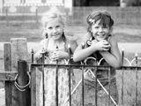Двоюродные сестрички,Алиса и Лена:)