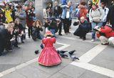 """Венеция. Карнавал. Фотографов чуть ли не больше, чем масок. """"Правильно"""" одетые маленькие дети неизменно вызывают ажиотаж :)"""