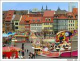 Эрфурт - столица Тюрингии (Германия). Один из немногих городов страны, не пострадавших от бомбардировок союзников во 2-й мировой войне
