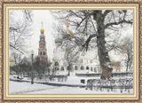 """В Новодевичьем монастыре. Москва. Спецобработка """"под живопись""""."""