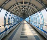 Переход над железнодорожными путями Переход, железная дорога