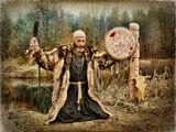 из серии -Капище Северных Ветров- (шаманские мотивы)