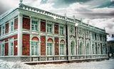 Архангельск деревянный дом снег зима