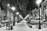Так выглядит одна из улиц Питера в 4 утра.