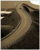 Норвегия. Атлантическая дорога, storseisund bridge