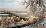 Нижний Новгород вид на Стрелку
