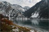 Горное озеро Иссык (Алма-Атинская область).