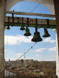 Вид с колокольни Успенского собора Смоленска
