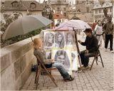художник, Прага, Карлов мост