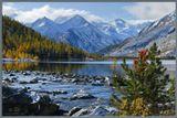 Горный Алтай, Катунский хребет, Среднемультинское озеро--------Приглашаю в фото-походы по горам Алтая!http://pohodnik.info
