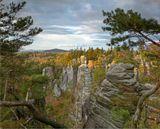 Национальный горный заповедник с 1955г.Находится в 100км северо-восточнее Праги.
