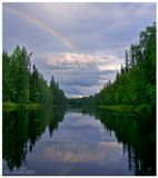Карелия. Река Охта